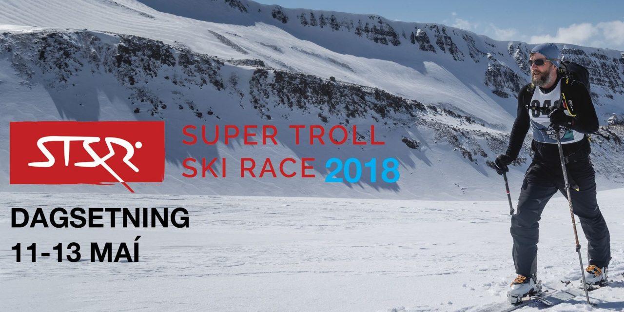 Super Troll Ski Race haldið á Siglufirði 11. maí – 13. maí 2018