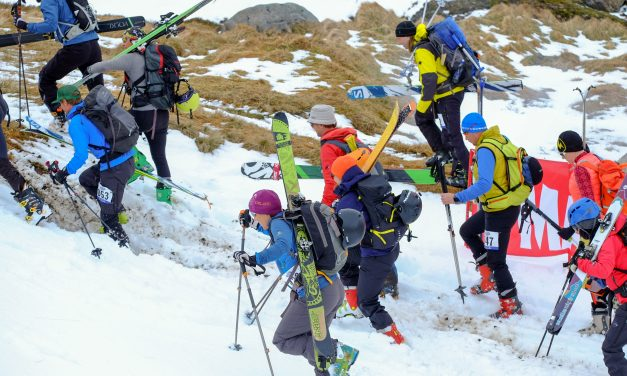 Fjallaskíðamótið Super Troll Ski Race haldið í fimmta sinn