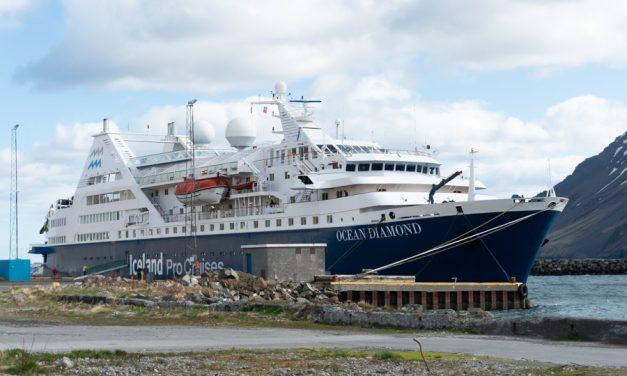 Ocean Diamond 9 sinnum til Siglufjarðar í sumar