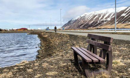 Stendur til að bæta við bekkjum og laga göngustíga ?