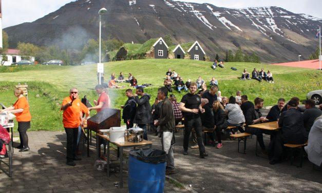 Bjórhátíð að Hólum í Hjaltadal