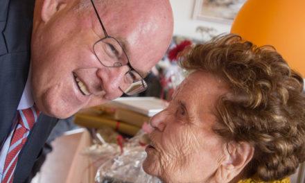 Nanna Franklín er 104 ára í dag