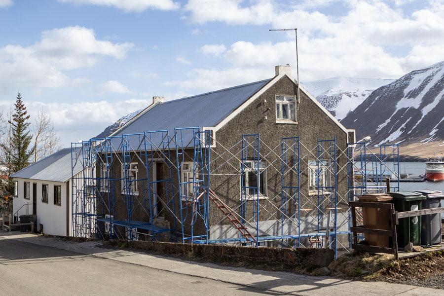 Spenna á Suðurgötunni