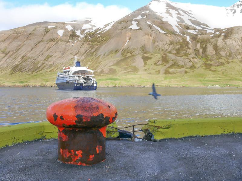 Aukning á farþegafjölda skemmtiferðaskipa