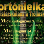 Vortónleikar Tónlistaskólans á Tröllaskaga
