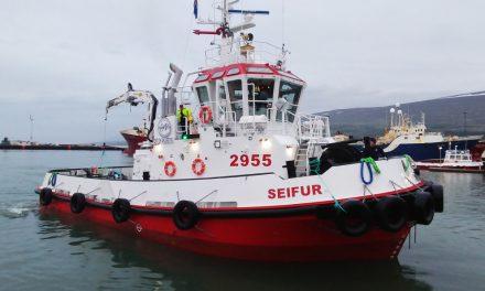 Nýr öflugur dráttarbátur á Norðurlandi