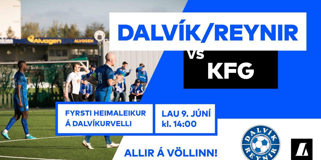 KF tapaði í leik dagsins en Dalvík/Reynir unnu sinn leik