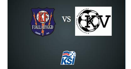 KF vann KV 2-0