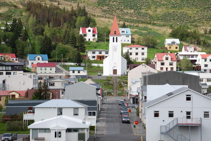 Tímabundin lokun Aðalgötu, Siglufirði