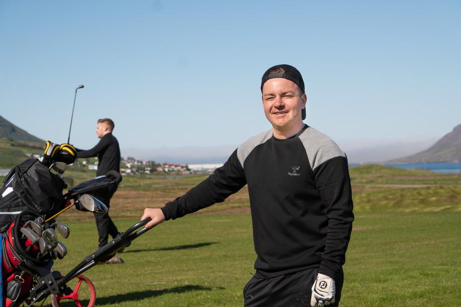 Nýi golfvöllurinn á Siglufirði opnaður