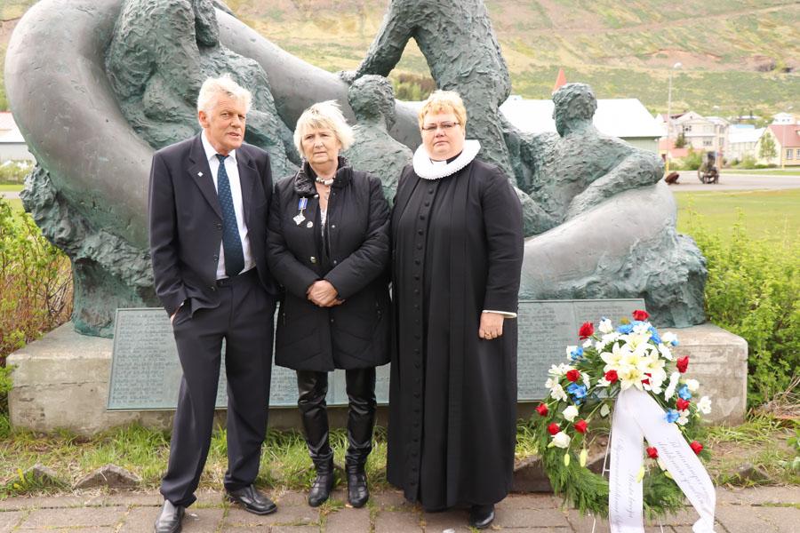 Sjómaðurinn Sverrir Ólason heiðraður