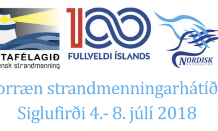 Norræn strandmenningarhátíð á Siglufirði 4. – 8. júlí