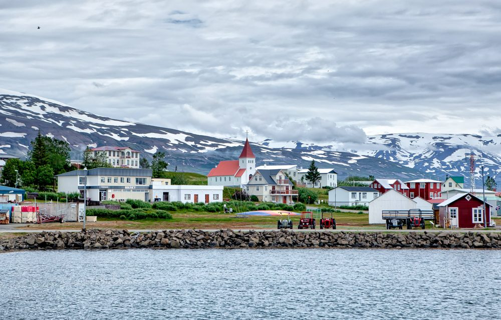 Skrifstofa Akureyrarbæjar í Hrísey