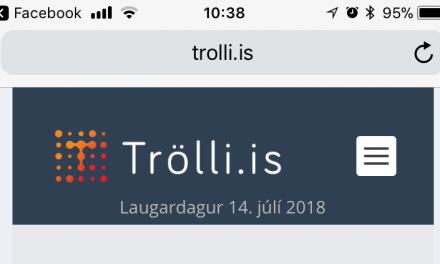 Trölli.is og iPhone / iPad