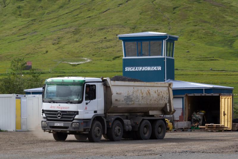 Framkvæmdir við Siglufjarðar flugvöll