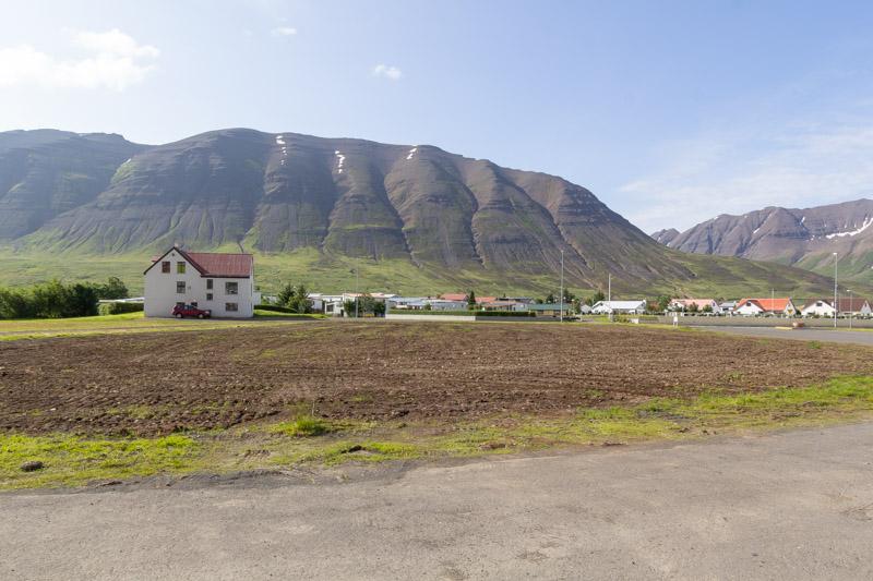 Vilja skrúðgarð í Ólafsfirði