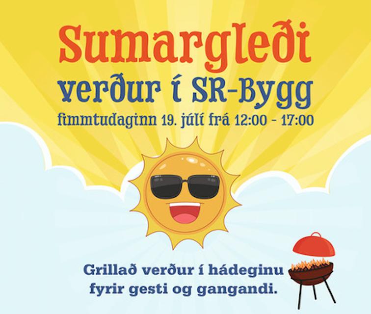 Sumargleði í SR-Bygg