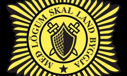 Vopnaður maður á Svalbarðseyri