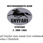 Reiðnámskeið hjá Gnýfara