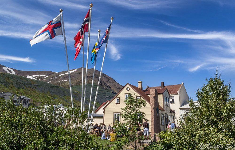 Þjóðlagahátíðin á Siglufirði sunnudaginn 8. júlí