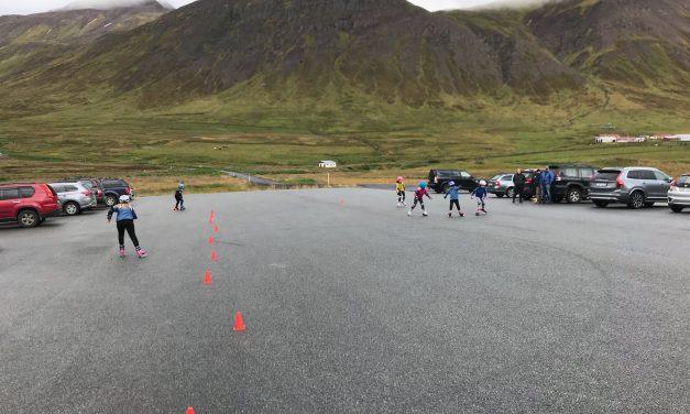 Sameiginlegar skíðaæfingar milli skíðafélanna í Fjallabyggð