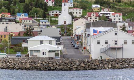 Ólykt í miðbæ Siglufjarðar