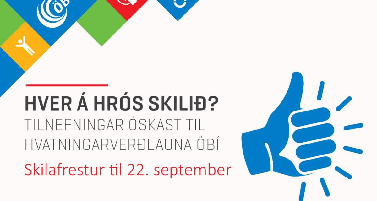 Hvatningarverðlaun Öryrkjabandalags Íslands