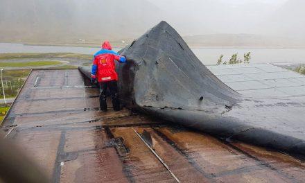 Verða að flytja út vegna fok- og vatnsskemmda