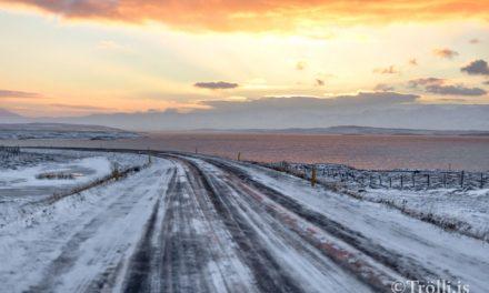 Gul viðvörun vegna veðurs á Norðurlandi
