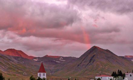Veðurklúbburinn á Dalbæ fundaði 4. september