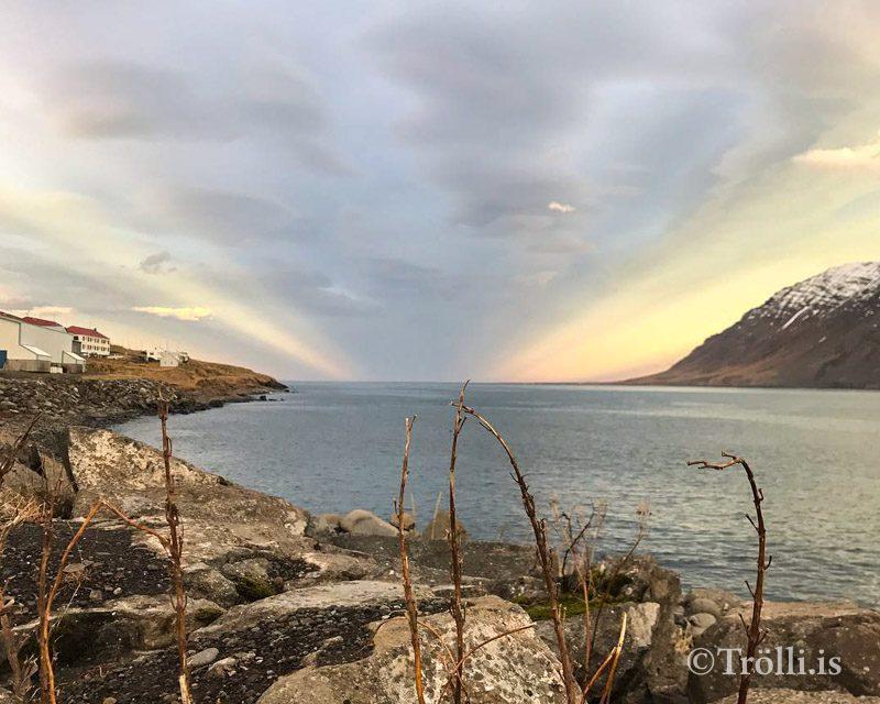 17,3 gráður á Ólafsfirði í gær