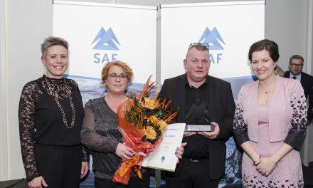 Bjórböðin hlutu nýsköpunarverðlaun SAF 2018