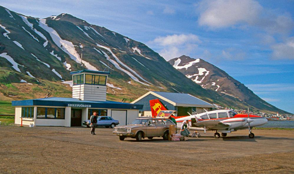 Spurningar varðandi Siglufjarðarflugvöll