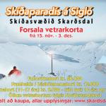 Skíðasvæðið Skarðsdal opnar 1. des.