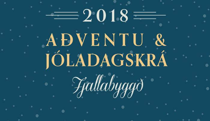 Aðventu- og jóladagskrá í Fjallabyggð