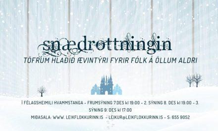 Miðasala á Snædrottninguna í fullum gangi
