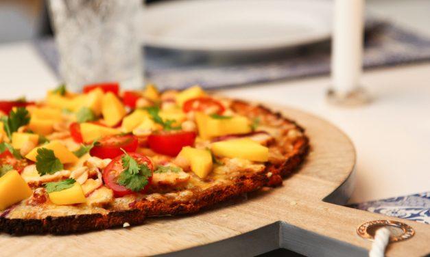 Sætkartöflu pizza