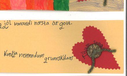 Jólakveðjur til íbúa