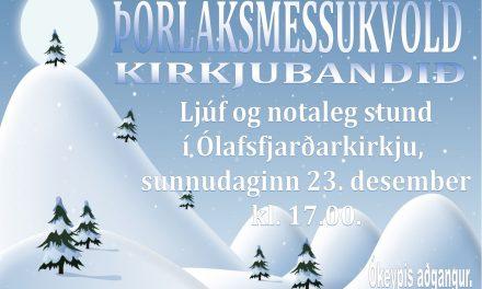 Kirkjubandið í Ólafsfjarðarkirkju