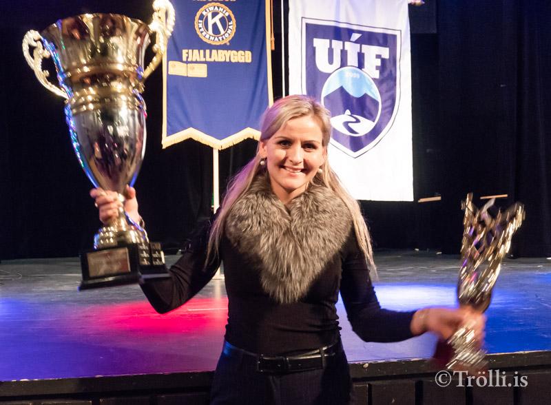 Elsa Guðrún Íþróttamaður ársins þriðja árið í röð.