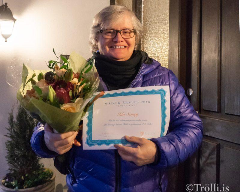 Ida Semey maður ársins 2018 í Ólafsfirði