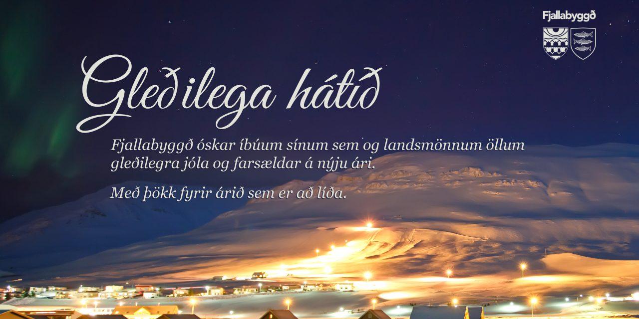 Jólakveðja frá Fjallabyggð