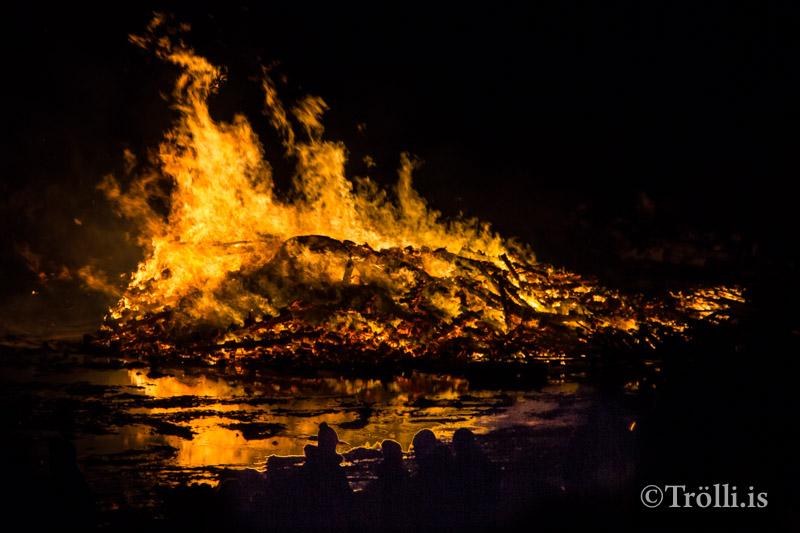 Áramótabrennur í Fjallabyggð