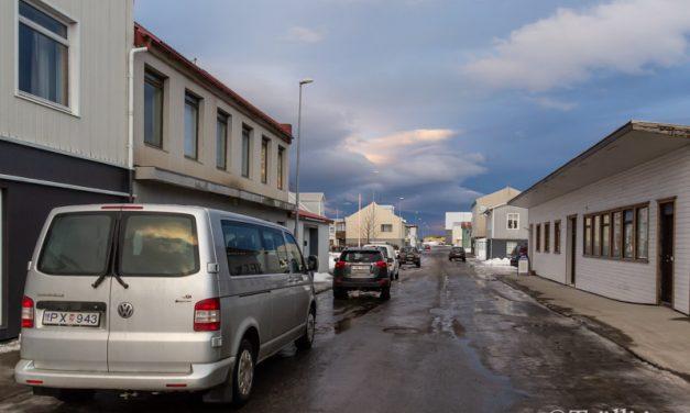 Umferðarmál við Lækjargötu og Norðurgötu