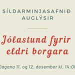 Jólastund með eldri borgurum