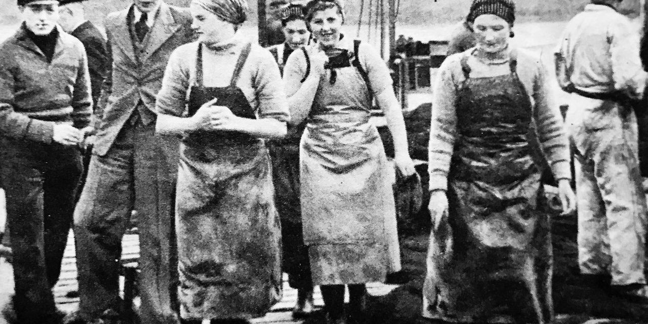 Síldarsaga frá 1943: Silfur hafsins í Klonedyke Norðursins