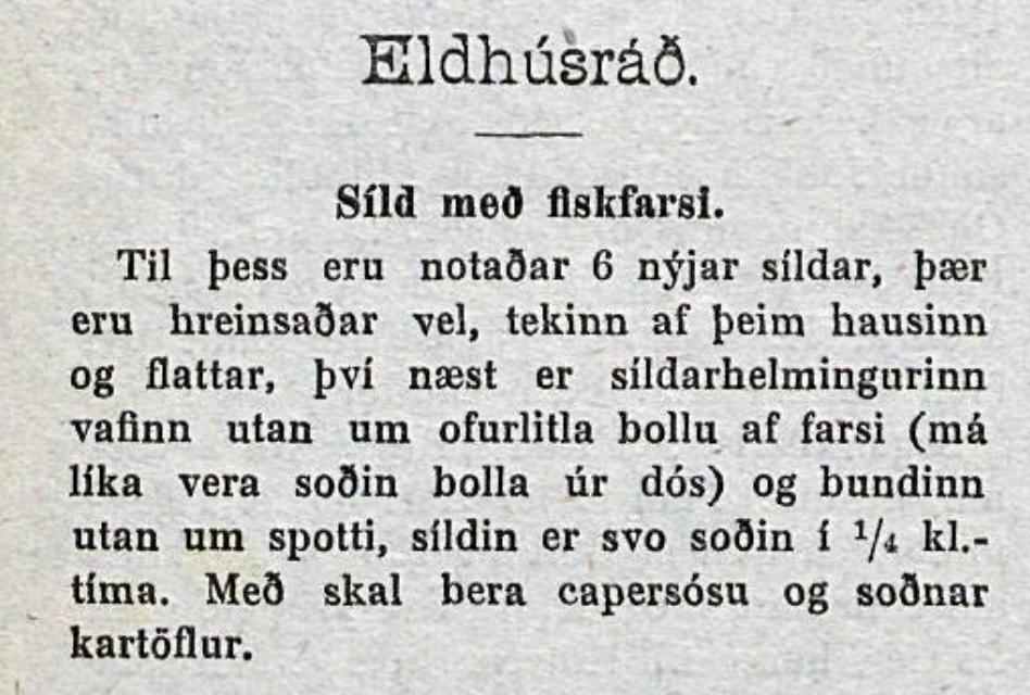 Síld og fiskur á FM Trölla í kvöld