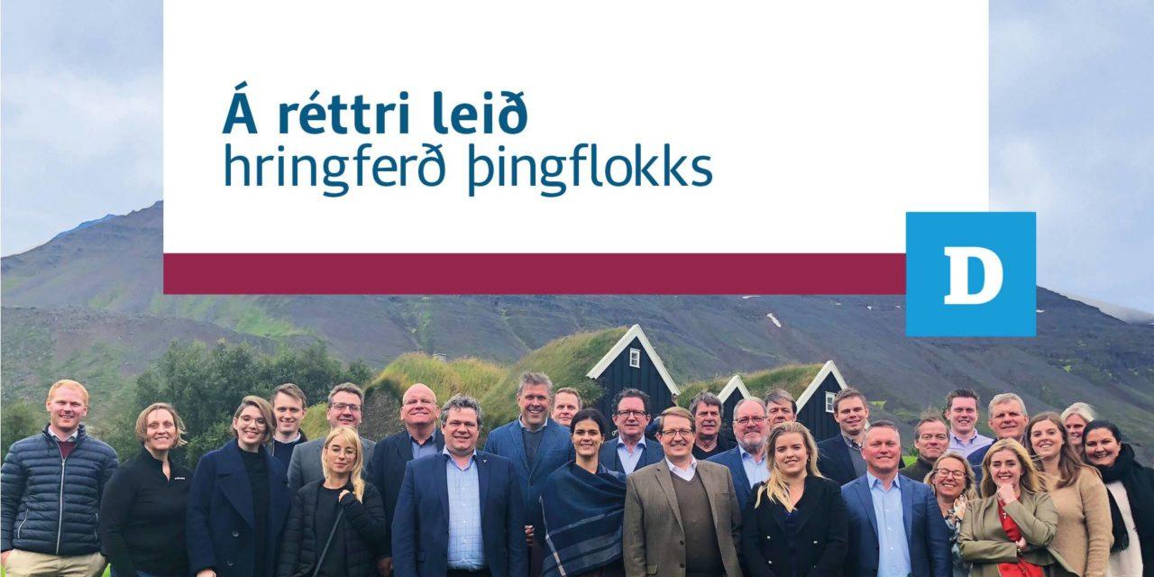 Morgunfundur Sjálfstæðisflokksins í Tjarnarborg, Ólafsfirði kl. 08:15