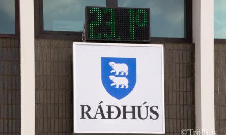 Hitinn í 23.1 °C á Hvammstanga