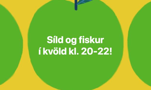 Síld og fiskur í beinni á FM Trölla í kvöld kl. 20:00